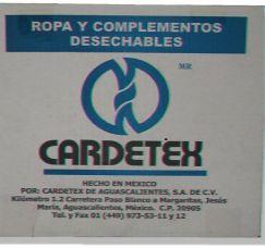 Paquete Desech. de Parto Cardetex c/10