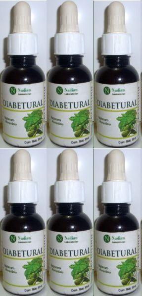 Diabetes Diabetural Regulador Glucosa Régimen 6, envío gratis