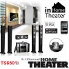 TS6501i Home Theater - Sistema de Sonido Embolvente 5.1, 5 Parlantes, Control Remoto