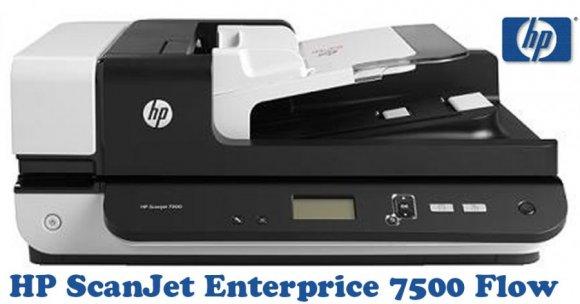 HP ScanJet Enterprice 7500 Flow (L2725B#BGJ), Cama Plana A4, 600DPI (24-BIT), USB, ADF 100 PAG DOBLE FAZ, CICLO DIA 3000 PAGINAS, ESCANEA HASTA 25 PPM (50 Imágenes por Minuto)