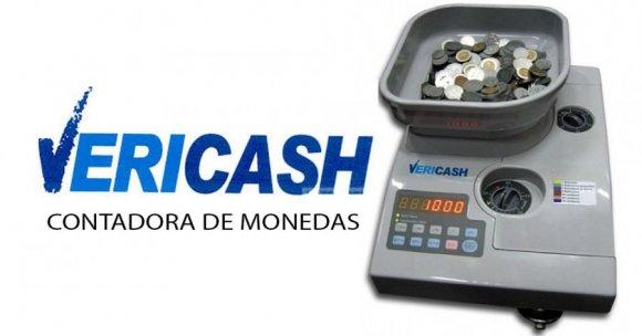 Vericash VC2000, CONTADORA DE MONEDAS UNIVERSAL, CUENTA SUMA Y CLASIFICA MONEDAS; VELOCIDAD DE 2300 MONEDAS POR MINUTO; BANDEJA CON CAPACIDAD DE 4000 MONEDAS, FUNCIONES DE CONTEO CONTINUO Y AGRUPACIÓN.