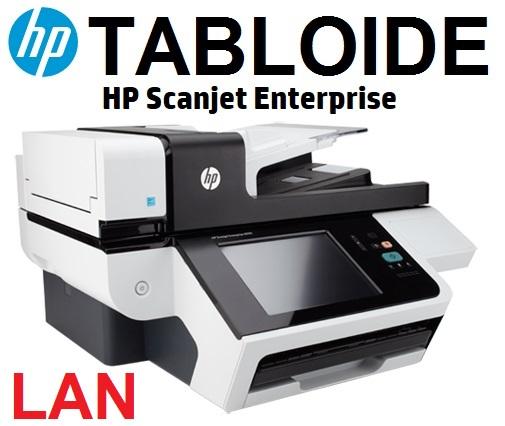 HP Digital Sender Flow 8500 fn1 (L2719A#BGJ), Document Capture Workstation  (TABLOIDE), CAMA PLANA HASTA A3, 600x600 (24-BIT), 1 USB, 1 GIGABIT, ADF 100 PAG, CICLO MES HASTA 5000 PAG, RAM 1.5MB, PROC 1GHz