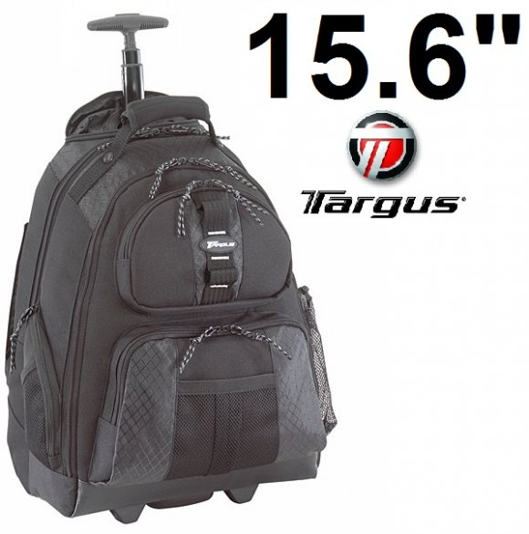 "Targus TSB700, 15,4""  Mochila con Ruedas y haza Telescopica Para laptops hasta 15.4"", TARGUS ROLLING NTBK BACK PACK"