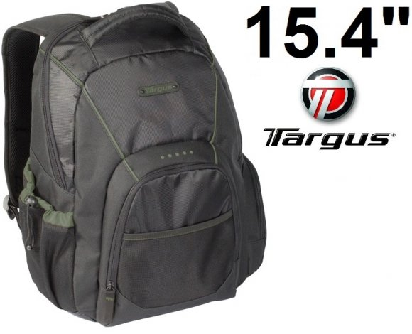 "Targus TSB118US, Mochila Incognito 15.4"" Backpack-Black"