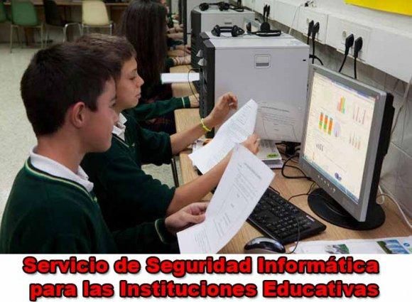 Servicio de Seguridad Informática para las Instituciones Educativas