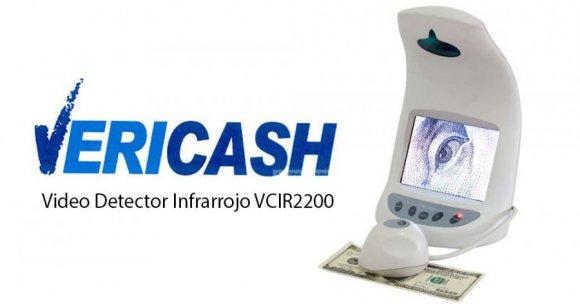 Vericash VCIRD-2200 VIDEO CÁMARA INFRARROJA, Herramienta profesional de autenticación de billetes y doc.de seguridad. Conveniente para entrenamiento de cajeros en cualquier institución. Pantalla LCD TFT a colores, permite verificación de microimpresiones