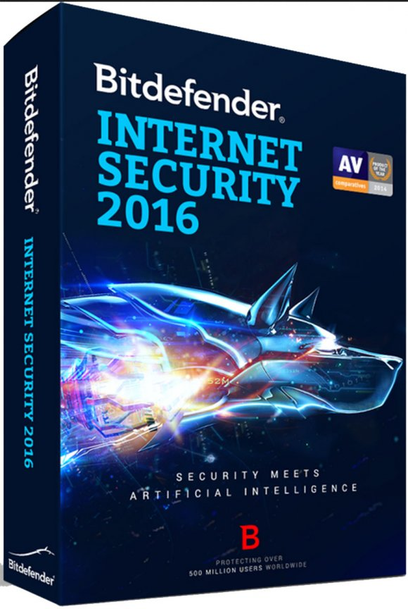 Bitdefender INTERNET SECURITY 2016, 1 pc, 12 Meses