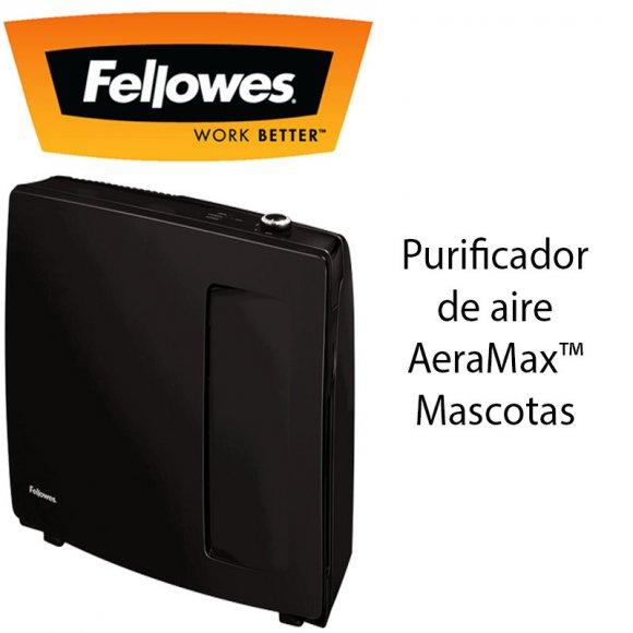 Fellowes PT65, Purificador de aire AeraMax™ Mascotas PT65, Sistema de purificación en 2 etapas, somete el aire a diferentes procesos antes de devolverlo purificado y eliminando los malos olores de las mascotas a la sala.
