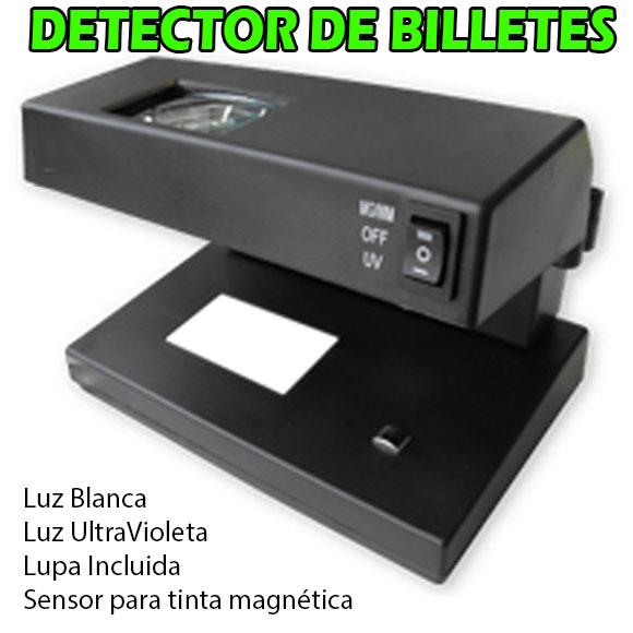YESIDO DHX0004, Detector de Billetes Falsos, tarjetas de crédito / débito / identificación, pasaportes, permisos de conducir y otros documentos oficiales. con Luz UV UltraVioleta, Luz Blanca, Sensor Auditiva de Tinta Magnetica, Lupa