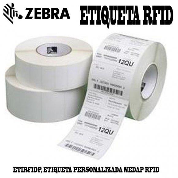 Zebra ETIRFIDP, ETIQUETA PERSONALIZADA NEDAP RFID (1 UND)