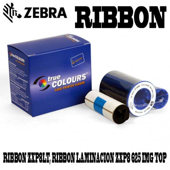 Zebra RIBBON ZXP8LT, RIBBON ZEBRA DE LAMINACION ZXP8 625 IMAGENES TOP