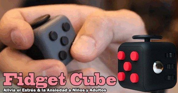 Cube Fidget, Juguete anti estrés, Alivia la Ansiedad en niños y adultos, Estos Productos son Agradablemente Adictivos, muy Relajantes, Especial para Personas Impacientes y Nerviosas