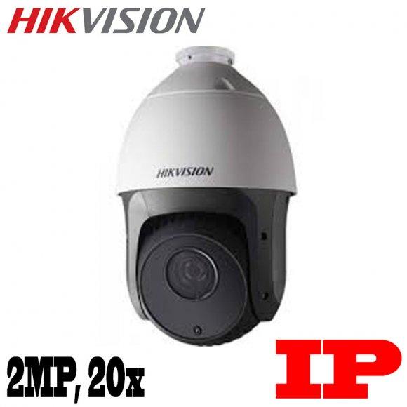 HikVision DS-2DE5220I-AE, CAMARA IP Tipo PTZ, 2MP, 20X ZOOM, IR 150M