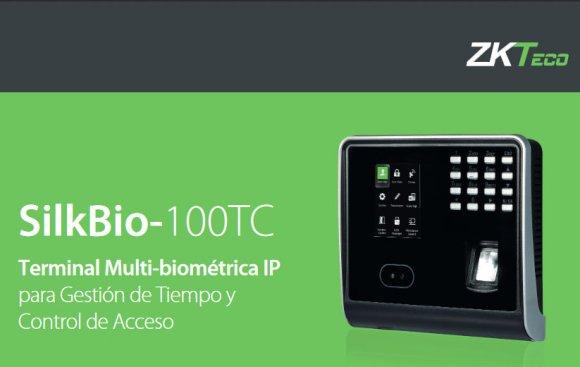 ZKTeco SILKBIO100-TC/ID, CONTROL ACCESO & ASISTENCIA FACIAL /HUELLA /RFID /CONTRASEÑA, CAP ROSTROS 1200, CAP HUELLAS: 1500, CAP REGISTROS: 200000, COM: TCP/IP-USB, 12V 3A (SI INCLUYE)