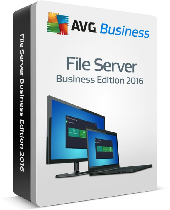 AVG File Server Edition, para Windows Sever 2003/2008/2012, 1 Servidor + 2Cals, 1Año