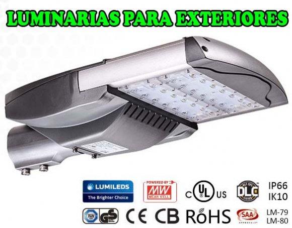 Luminarias LED Para Exteriores LD65H, 65w de Consumo, Muy Potente,  destinada al alumbrado público, Haciendas, Quintas, Propiedades agricolas, ganaderas, Canchas deportivas