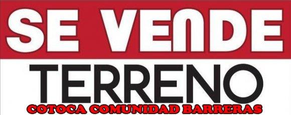 VENDO LOTES DE TERRENOS EN COTOCA, COMUNIDAD LAS BARRERAS CERCANO A LA CIRCUNVALACION LADO ESTE, DESDE 350 A 500 METROS. Usd. 25.- Metro Cuadrado.  Lotes de 300 M2 Usd. 8750.- Lotes de 400 M2   Usd.10000.- en total 13 lotes disponibles