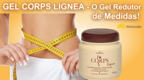 Hinode CORPS LIGNEA GEL MASAJEADOR REFRESCANTE 500G, Para eliminar la grasa localizada y Reducir medidas Corporales