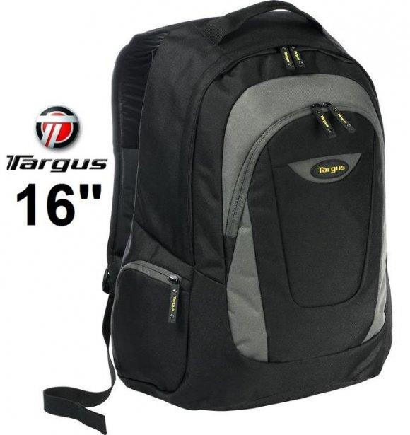 "TARGUS MOCHILA TSB193US, TREK para Laptop hasta 16"" BLACK/SILVER"