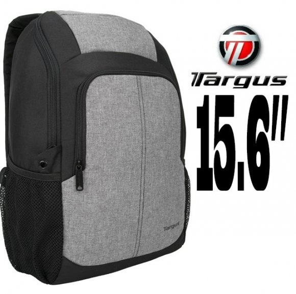 "TARGUS ESSENTIAL3 TSB873, MOCHILA PARA LAPTOPS HASTA 15.6"" BLACK / GREY"
