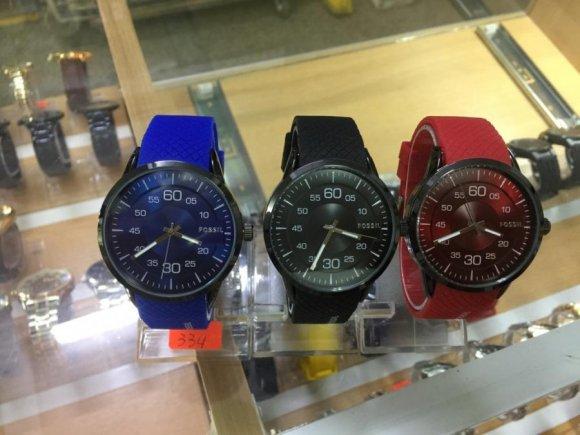 Relojes FOSSIL para Varones de Altisima Calidad. Tres Colores en stock
