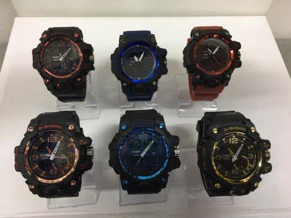 Relojes para Varones CASIO Y G-SHOCK para Varones Tipo Aviador de Altisima Calidad