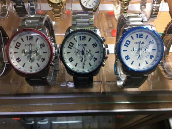 Relojes FOSSIL para Varones de Altisima Calidad. TRES Modelos en Stock