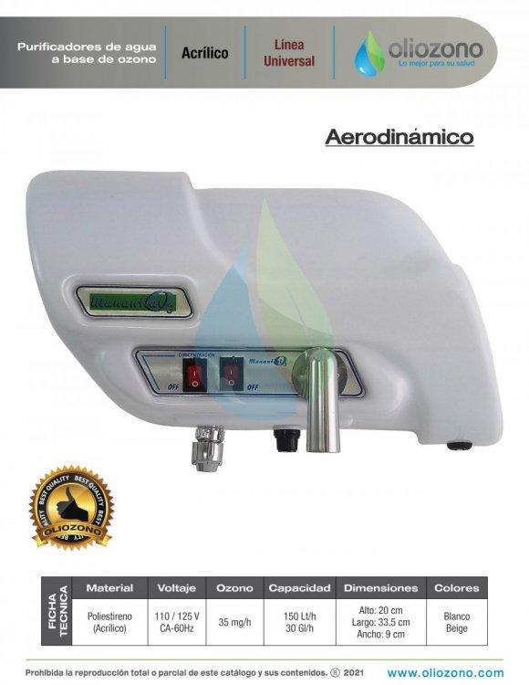 Purificadores de agua a base de ozono en acrilico