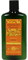 Andalou Sweet Orange & Argan Moisture Rich Shampoo