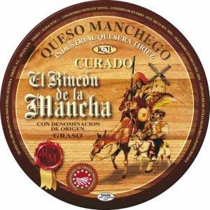 "Queso Curado de Oveja ""Rincón de La Mancha"""
