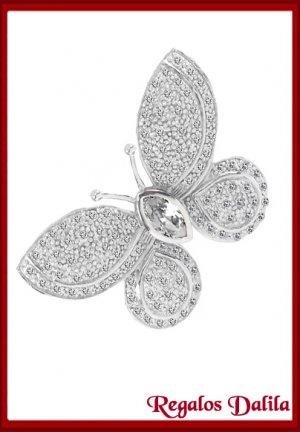 Dije de Plata Rodinada Cubics Mariposa