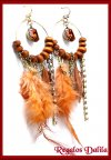 Aros Fashion Jewelry  Plumas, Strass etc.