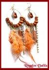 Aros Fashion Jewelry  Plumas, Strass etc.
