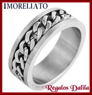 Anillo Plateado Morellato Italy