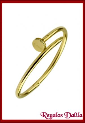 Pulsera A.Quirúrgico CLOU GOLD CZ