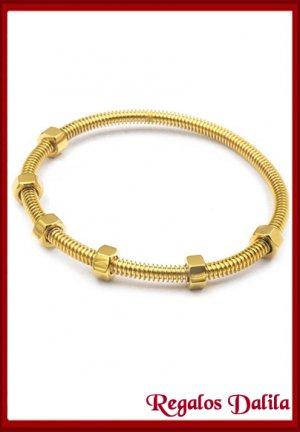 Pulsera A. Quirúrgico Ecrou GOLD