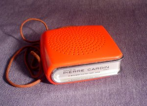Vintage Mitsubishi Transistor AM Radio Designed By Pierre Cardin Paris 60's Sold!