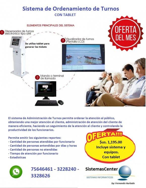 KIT 1 ORDENAMIENTO DE TURNOS LITE V. 2.0