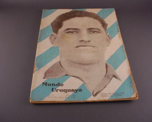 1928 Uruguay Olympic Soccer Football Pedro Cea at Cover Magazine