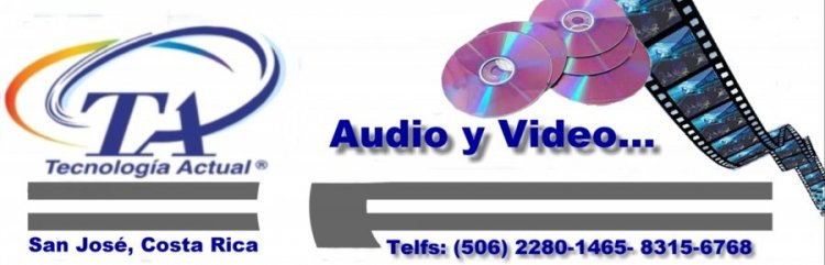 Tecnolog�a Actual Audio y Video...