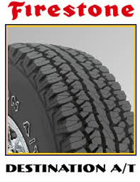 FIRESTONE DESTINATION AT 225/70R15