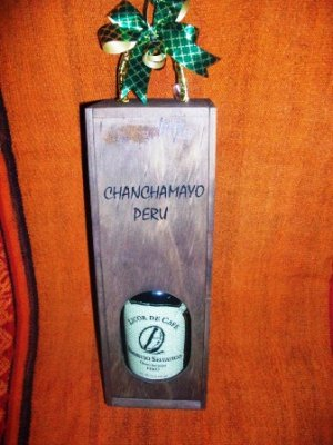 Licor de Café en Caja de Madera 525 ml