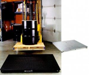 Estructuras para balanzas en modelo Rampa 1.20 x 1.20 mt. y 1.50 x 1.50 mt.