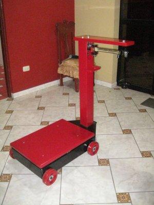 Balanza Mecanica de 500 kg.