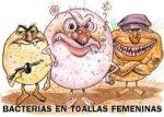 Bacterias en Toallas Femeninas