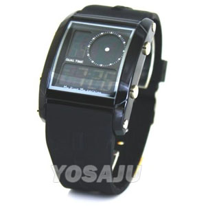Relojes OTS LED Digital Doble Hora