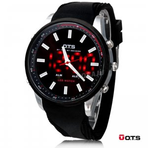 Relojes OTS LED Digital Plumilla
